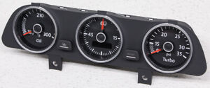 5c5 919 527 D Oem Volkswagen Beetle Turbo Upper Dash Boost Gauge Cluster