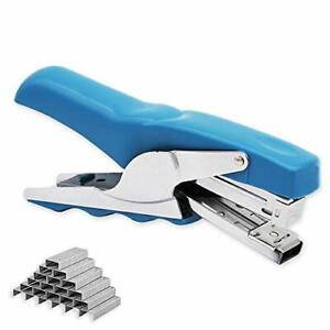Blue Office Plier Stapler With 1000 Staples Stapling At Home School Warehouse