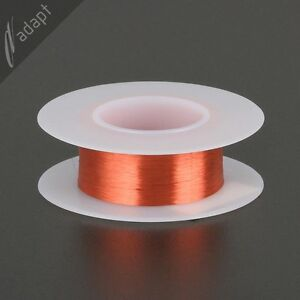 42 Awg Gauge Magnet Wire Red 3065 155c Enameled Copper Coil Winding S