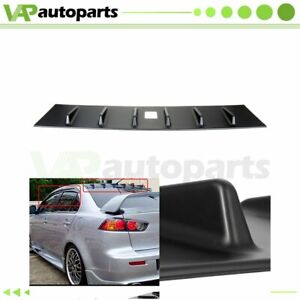 Roof Shark Maintain Traction Spoiler Wing For 2008 2016 Mitsubishi Lancer