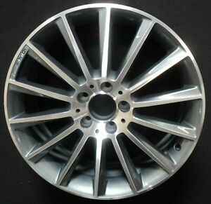 Mercedes C Class 15 16 17 18 19 20 19 Factory Oem Wheel Rim In 85374 Front