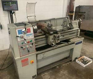 Sharp 1440 Precision Lathe 2 axis Dro Steady Rest 1500 Rpm 3 jaw Tool Post