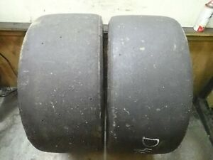 2 27 5 12 0 15 Goodyear D4678 Race Slick Tires 3 4 32 No Repairs