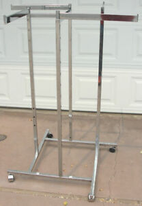 Heavy Duty Retail And Commercial Quality Clothing Display Rack And Stand Awesome