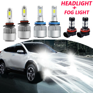 For Honda Cr v Crv 2015 2020 6000k Led Headlight Hi Low Beam Fog Light Bulb Kits