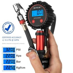 Diyco D3 4 Plus Digital Tire Inflator With Pressure Gauge Air Tool Latest Ver