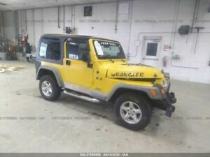Motor Engine 4 0l Vin S 8th Digit Fits 05 06 Wrangler 394083