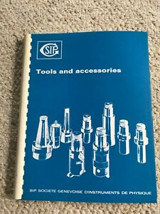Sip 620 720 Sip Hauser Tooling And Accessories Manual