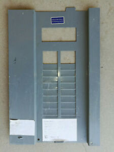 Square D Electrical Circuit Breaker Panel Cover 20 space 40 circuit Used