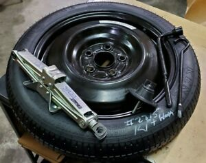 16 20 Honda Civic Spare Wheel Rim Tire Donut 125 80 16 With Jack Lug Wrench Tool