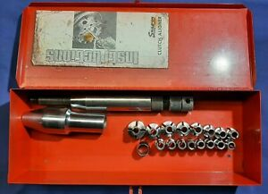 Snap On 19pc A 37 Clutch Aligner Set With Kra 104 Storage Box Instructions