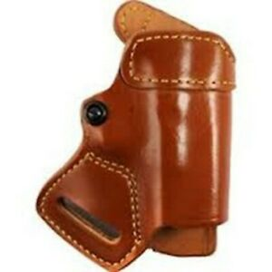 Gould Goodrich 806 g17 Brown Small Of Back Holster For Glock 17 36