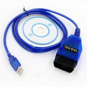 Car Code Scanner Usb Diagnostic Cable Obd2 409 1 Vag Com For Vw Audi Tool Cd