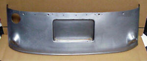 1933 1934 Ford Gas Tank Cover Stock With License Plate Bucket Coupe Sedan