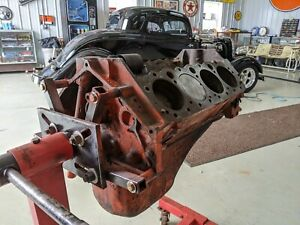 1955 Chevrolet 265 Short Block Gm 3703524 Corvette Engine E65