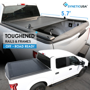 Aluminum Retractable Hard Tonneau Truck Bed Cover For 2009 2018 Ram 1500 5 7ft