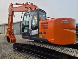 2012 Hitachi Zaxis Zx225us Lc Excavator W Hydraulic Thumb q c aux Hyds 6400 Hrs