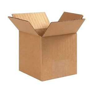 25 Count Coastwide 4 X 4 X 4 32 Ect Shipping Boxes 4x4x4 Free Ship