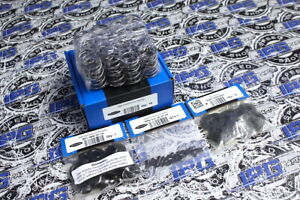 Supertech 97lb Dual Valve Springs Steel Retainers Keepers For Honda K20 K24