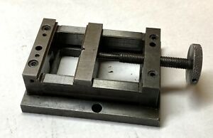 Moore baystate 4 1 2 Machining Vise For Moore Jig Bore Machine Nice