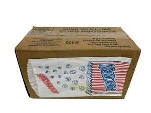 Duro Bag Popcorn Bags Quantity 500 Great Northern Popcorn Company 1 1 2 ounce