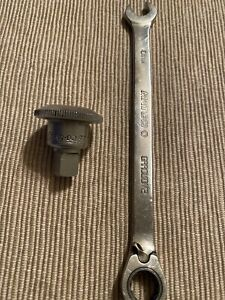 Snap On Tools 3 8 Dr Spinner Tumbler Usa Plus Matco 10mm Ratcheting Wrench