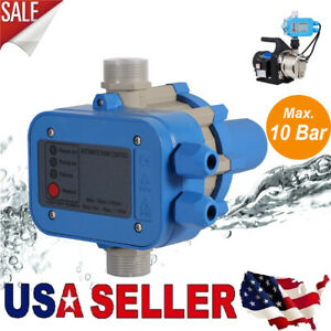 Automatic Electronic Switch Control Water Pump Pressure Controller 110v Us Stock