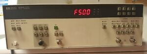 Hp 8130a 300mhz Pulse Generator For Parts Or Repair