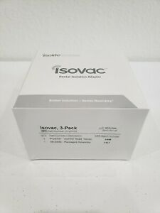 Isovac Dental Isolation Adapters Isolite 3 Pack Brand New W Original Package