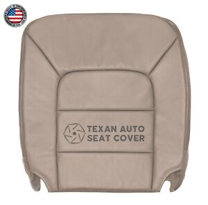 2003 2006 Ford Expedition Xlt Xls Passenger Bottom Leatherette Seat Cover Tan