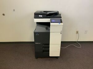 Konica Minolta Bizhub C258 Color Copier Machine Network Printer Scanner Copy Mfp