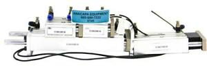 Nitra E16m150md m E16m075md m E12m030md m Pneumatic Air Cylinder Lot Of 4 6749