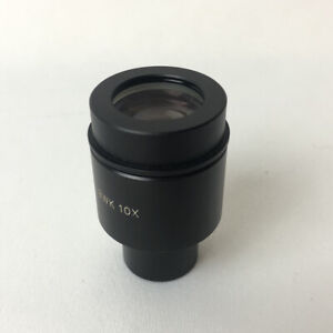 New Old Stock Olympus Japan Microscope Eyepiece Bwk 10x Replacement Part