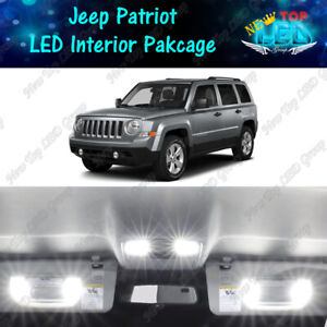 White Led Interior Lights Package Reverse Lights For 2007 2017 Jeep Patriot