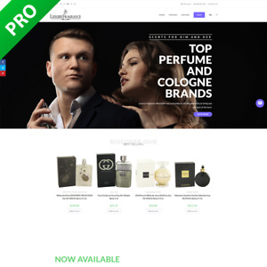 Professional Perfume Fragrance Store Dropshipping Turnkey Business Website