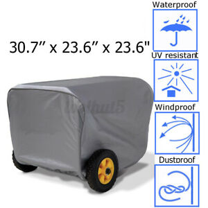 For Champion Power Generator Portable Storage Cover Weather Dustproof Large New