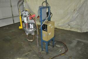 16 Kva Serra Hanging Spot Welder Hand Held 220 Volt Throat 7 Inches T 50 c D d