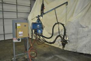 50 Kva Peer Hanging Spot Welder 220v Throat 5 Inches Entron En 1000