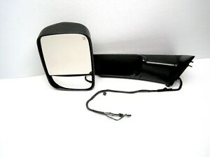 2013 2018 Dodge Ram 2500 Lh Driver Power Door Mirror Heated W Manual Folding Oem