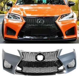 For 13 15 Lexus Gs350 450 To 16 Gsf F sport Style Front Bumper Conversion Kit