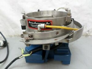 Service Engineering Inc Vibratory Feeder Bowl 8 Stainless Steel