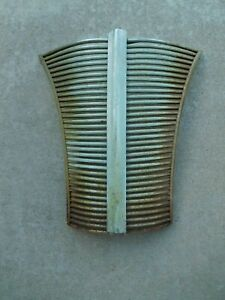 1938 1939 Ford Deluxe Standard Grill Assembly