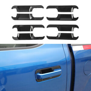 Exterior Door Bowl Handle Panel Trim Cover For Ford F150 2015 2020 Accessories