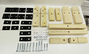 1930 1931 Model A Ford Body Mounting Kit Includes Blocks Pads Hardware Coupe