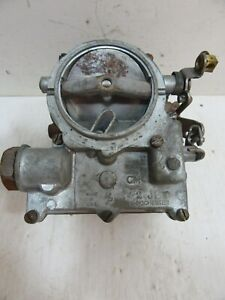 Rochester 2 barrel Carburetor 2g 1960 s Chevy Gmc Truck Manual Choke Rebuilt