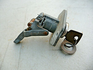 Used 1955 Ford Glove Box Lock W Key 55 Fomoco 55 To 57 T bird All But One Part