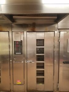 Hobart Natural Gas Hba1g Single Rack Bakery Roll In Convection Oven