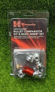 Hornady Lock N Load Bullet Comparator Kit with Set of 7 Inserts B234 $33.35