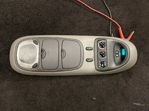 Ford Excursion Expedition Overhead Top Roof Console Map Light Display Gray Grey