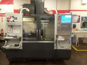 Haas Vf 2ss W tr 160 5 Axis Rotary Table From Tech School Low Hours Cts